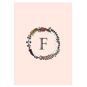 Gifts of Love Notebook Monogram Initial F Laila