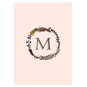 Gifts of Love Notebook Monogram Initial M Laila