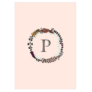 Gifts of Love Notebook Monogram Initial P Laila