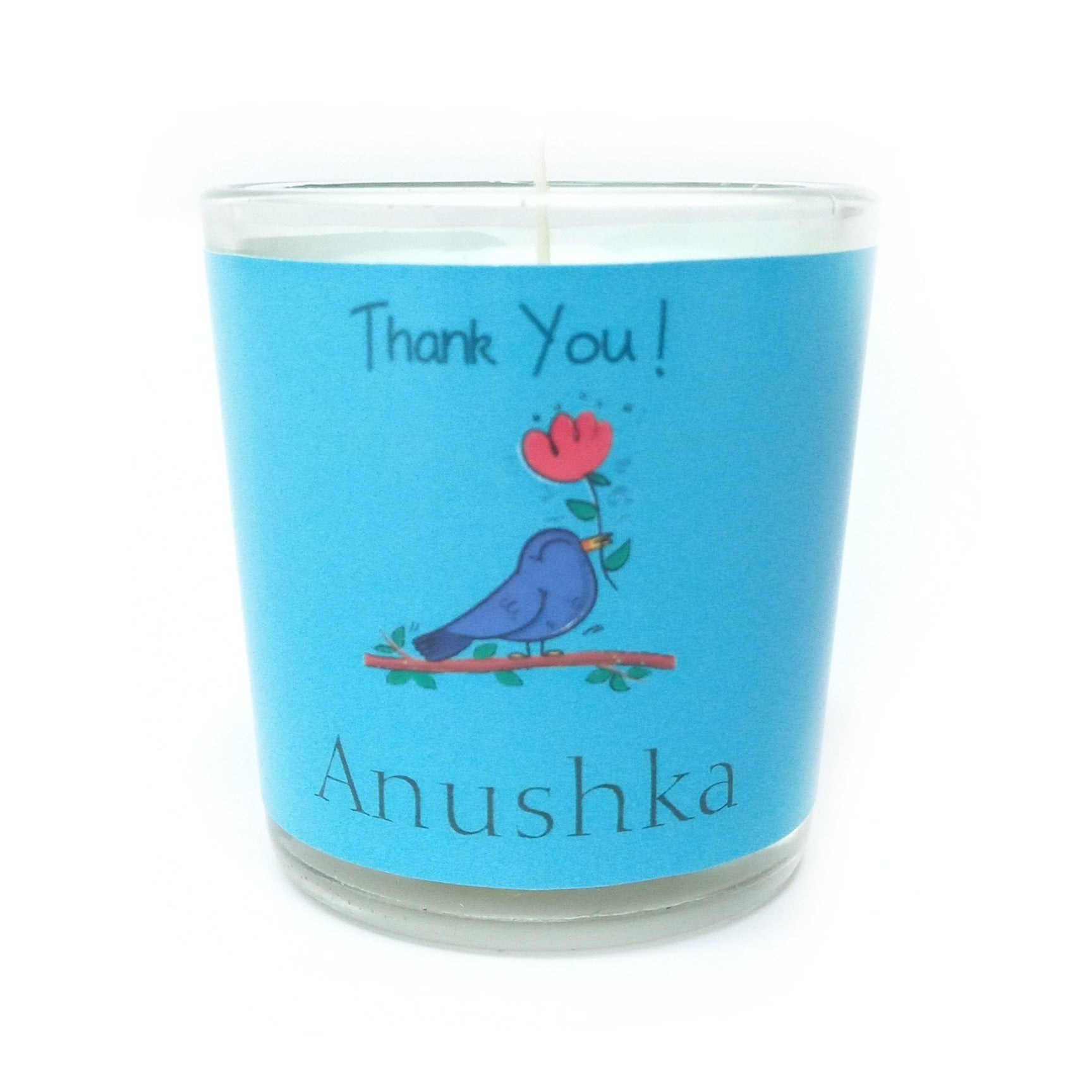 Gifts of Love Personalised Votive Thank You Small