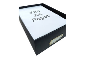 A4 Storage Box Paper - Red