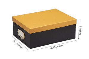 Gifts of Love A4 Storage Box Yellow