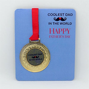 Coolest Dad In the World - Medal
