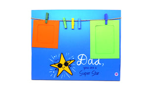 'Dad, You Are a Super Star' - Photo Frame