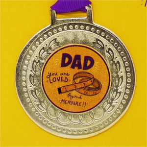 Dad You are Loved - Medal