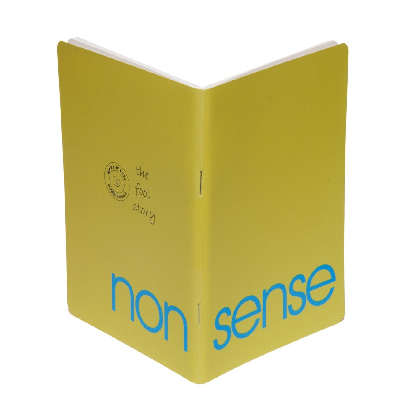 Gifts of Love Fool Story Notebook Non Sense