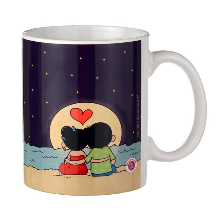 Love You to the Moon and Back - Ahava Coffee Mug