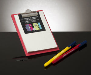 Red - Magnetic Clipboard