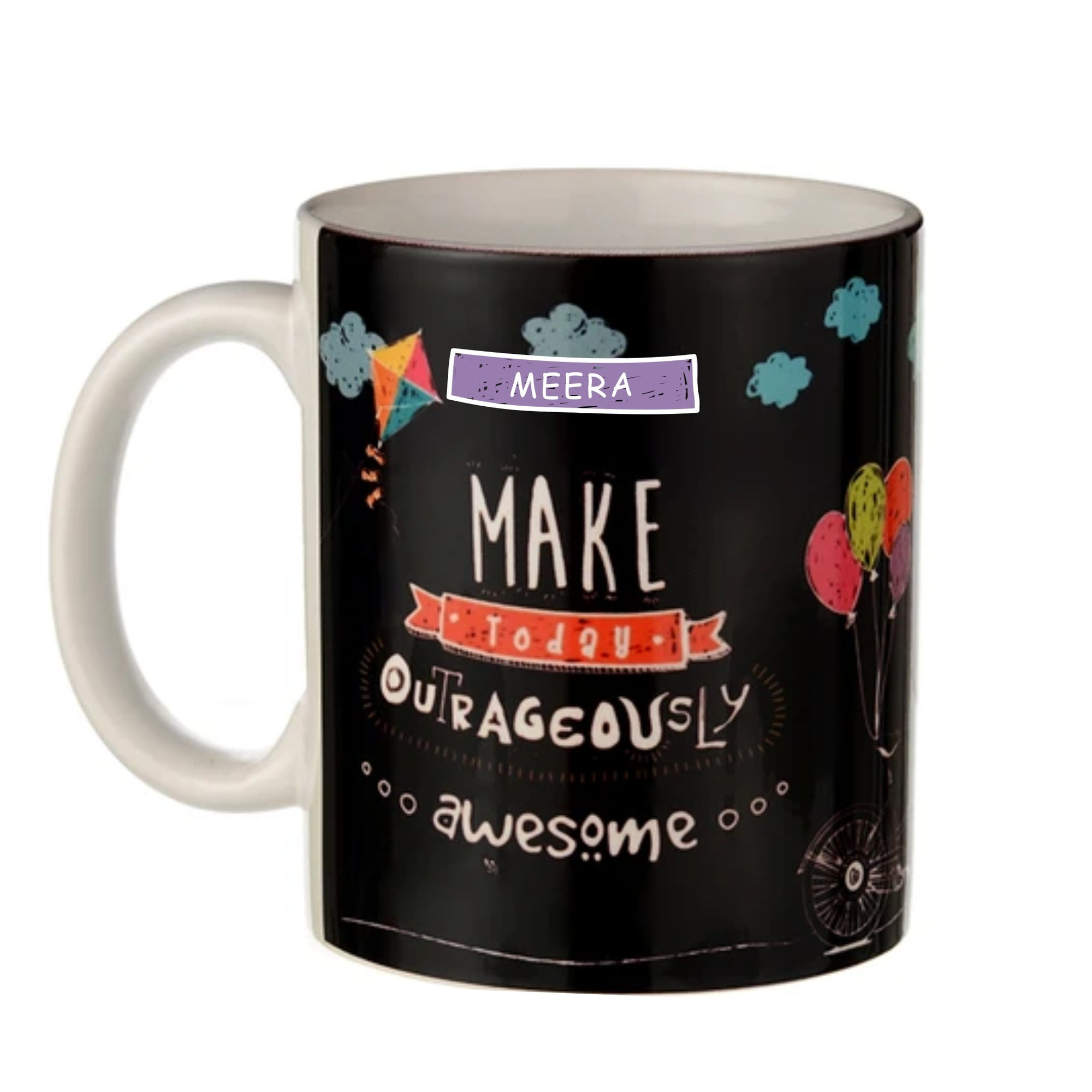 Gifts of Love Personalised Coffee Mug Make Today Outrageously Awesome