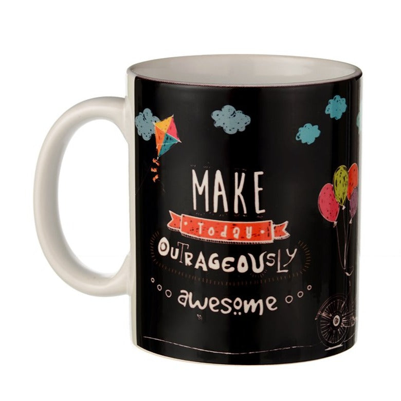 Make Today Awesome - Chalk Art Coffee Mug