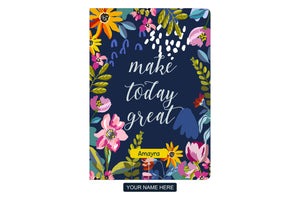 Gifts of Love Personalised Soft Cover Notebook A5 Make Today Great