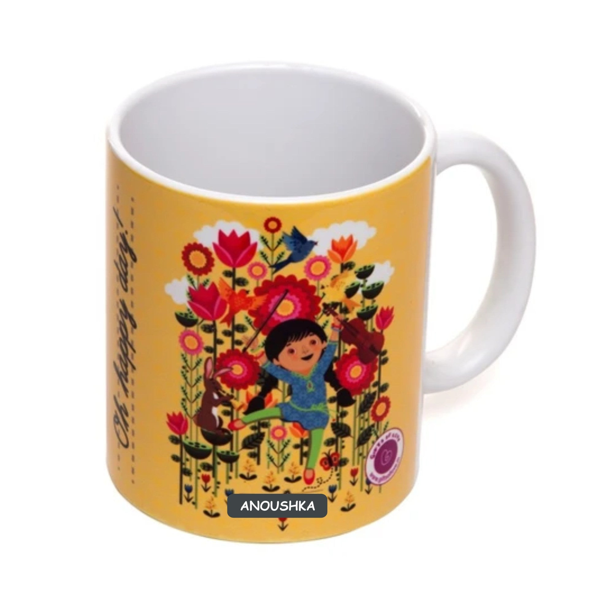Gifts of Love Personalised Coffee Mug Oh Happy Day