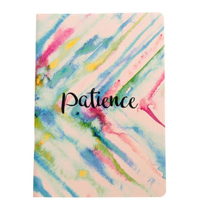 Patience - Inner Treasures A5 Soft Cover Notebook
