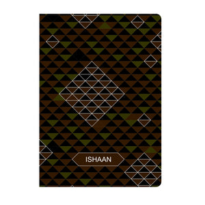 Gifts of Love Personalised Soft Cover Notebook A5 - Cafe Slate