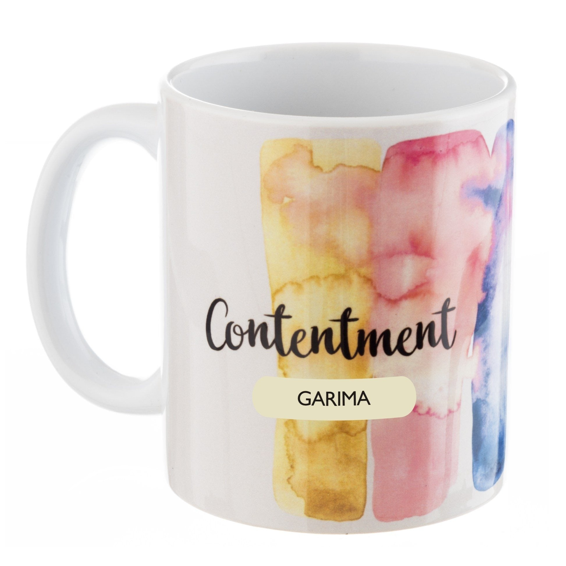 Gifts of Love Personalised Coffee Mug Inner Treasures Contentment