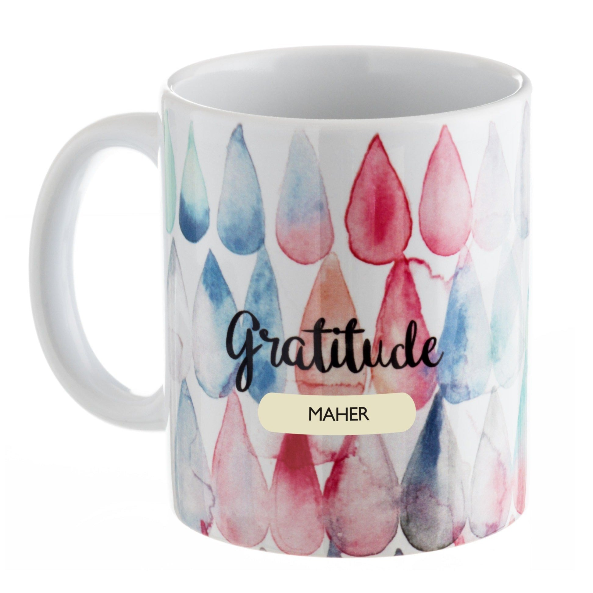 Gifts of Love Personalised Coffee Mug IT Gratitude