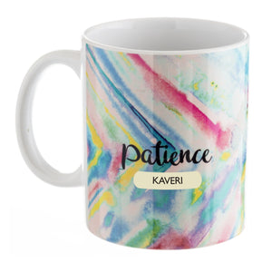 Gifts of Love Personalised Coffee Mug Inner Treasures Patience