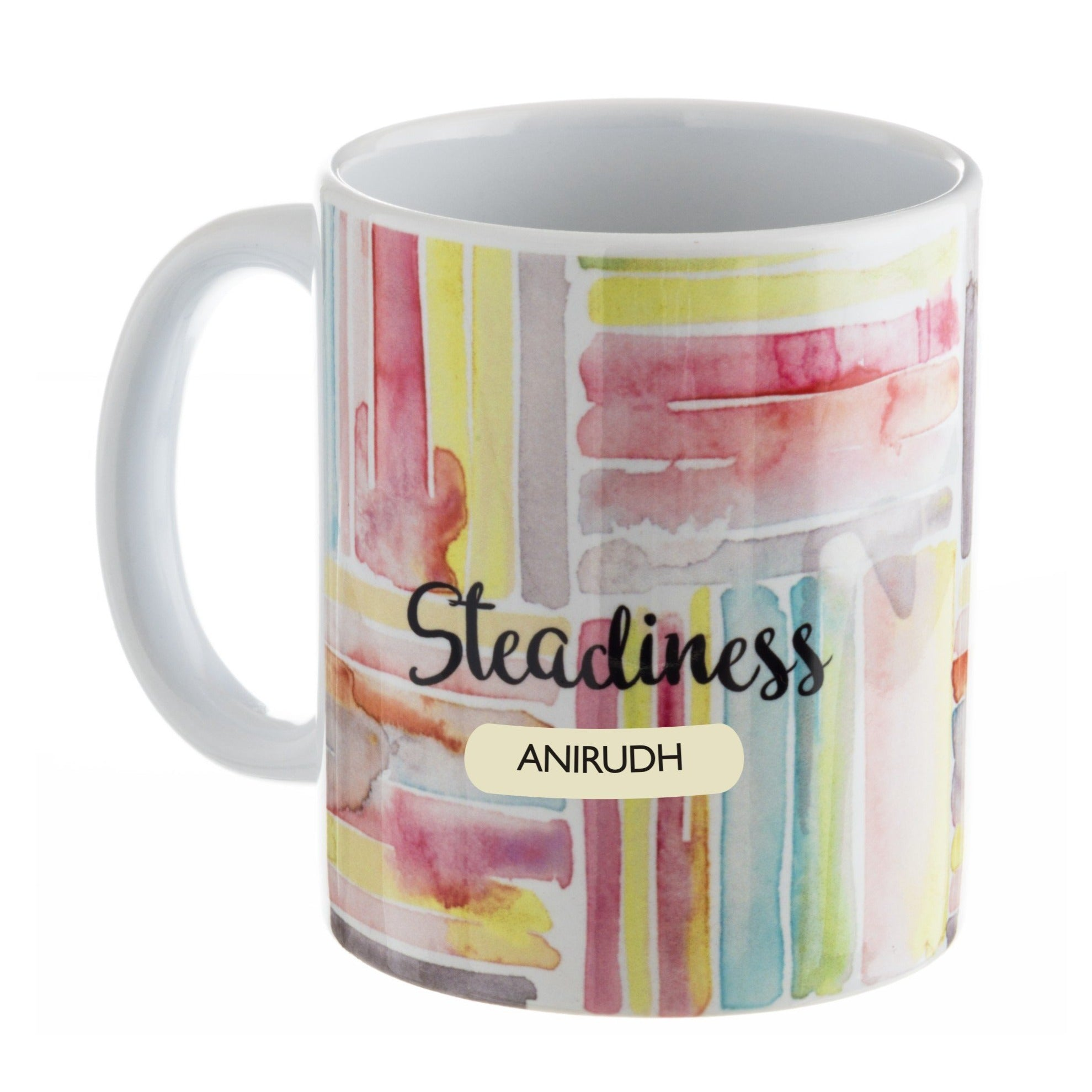 Gifts of Love Personalised Coffee Mug IT Steadiness 3