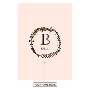 Gifts of Love Notebook Personalised Initial B Laila