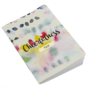 Personalised Notebook Inner Treasure Cheerfulness Soft Cover A5 3