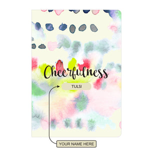 Gifts of Love Personalised Soft Cover Notebook A5 - Cheerfulness