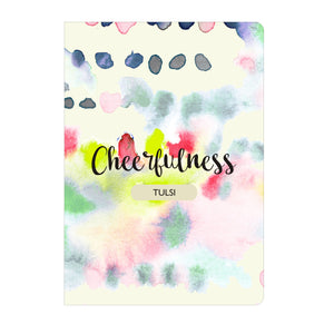 Personalised Notebook Inner Treasure Cheerfulness Soft Cover A5