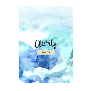 Personalised Notebook Inner Treasure Clarity Soft Cover A5