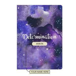 Gifts of Love Personalised Soft Cover Notebook A5 - Determination