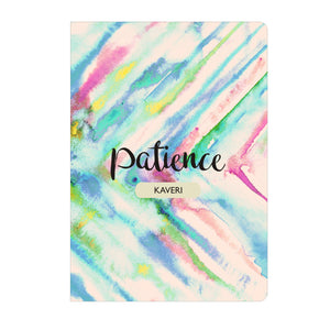 Personalised Soft Cover Notebook A5 - Patience