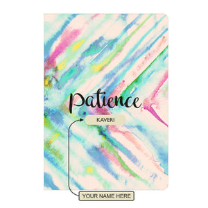 Gifts of Love Personalised Soft Cover Notebook A5 - Patience