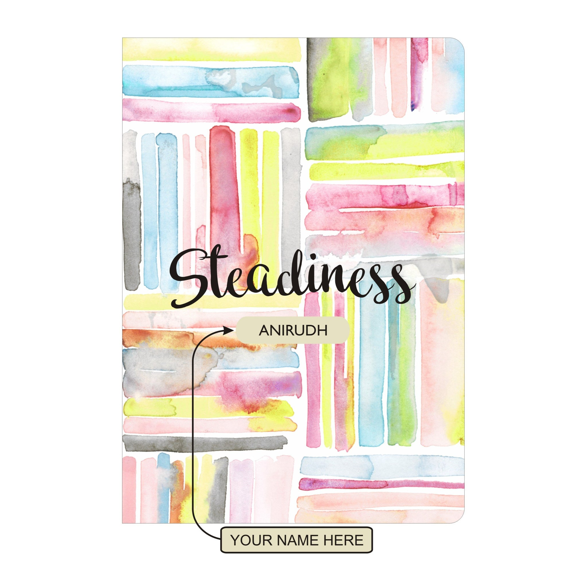 Personalised Notebook Inner Treasure Steadiness Soft Cover A5 3