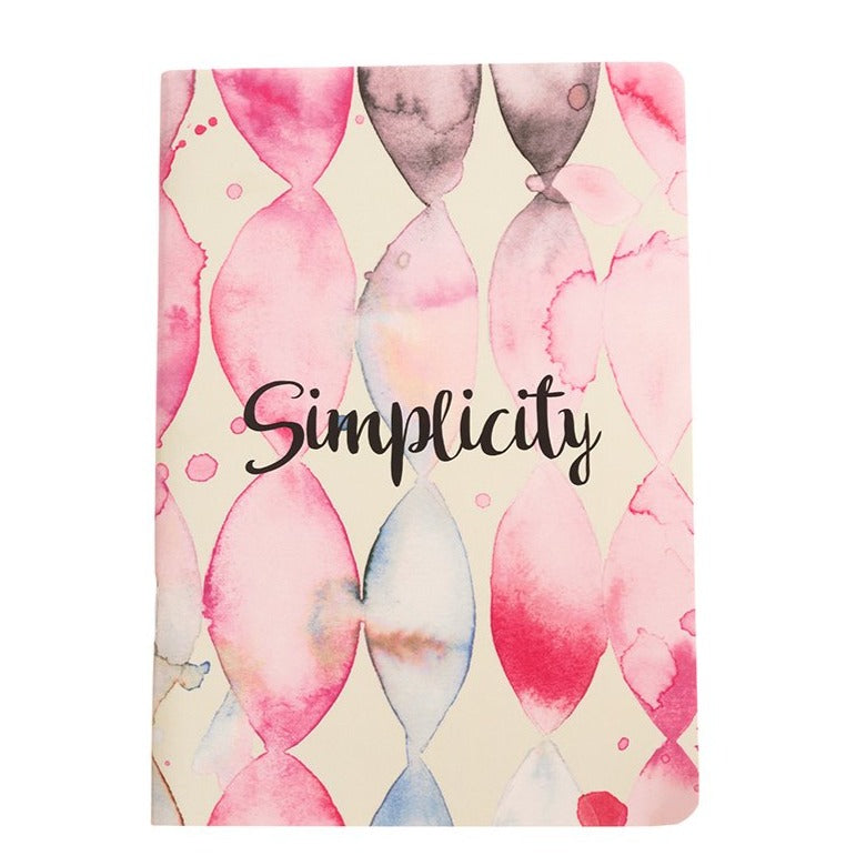 Simplicity - Inner Treasures A5 Soft Cover Notebook