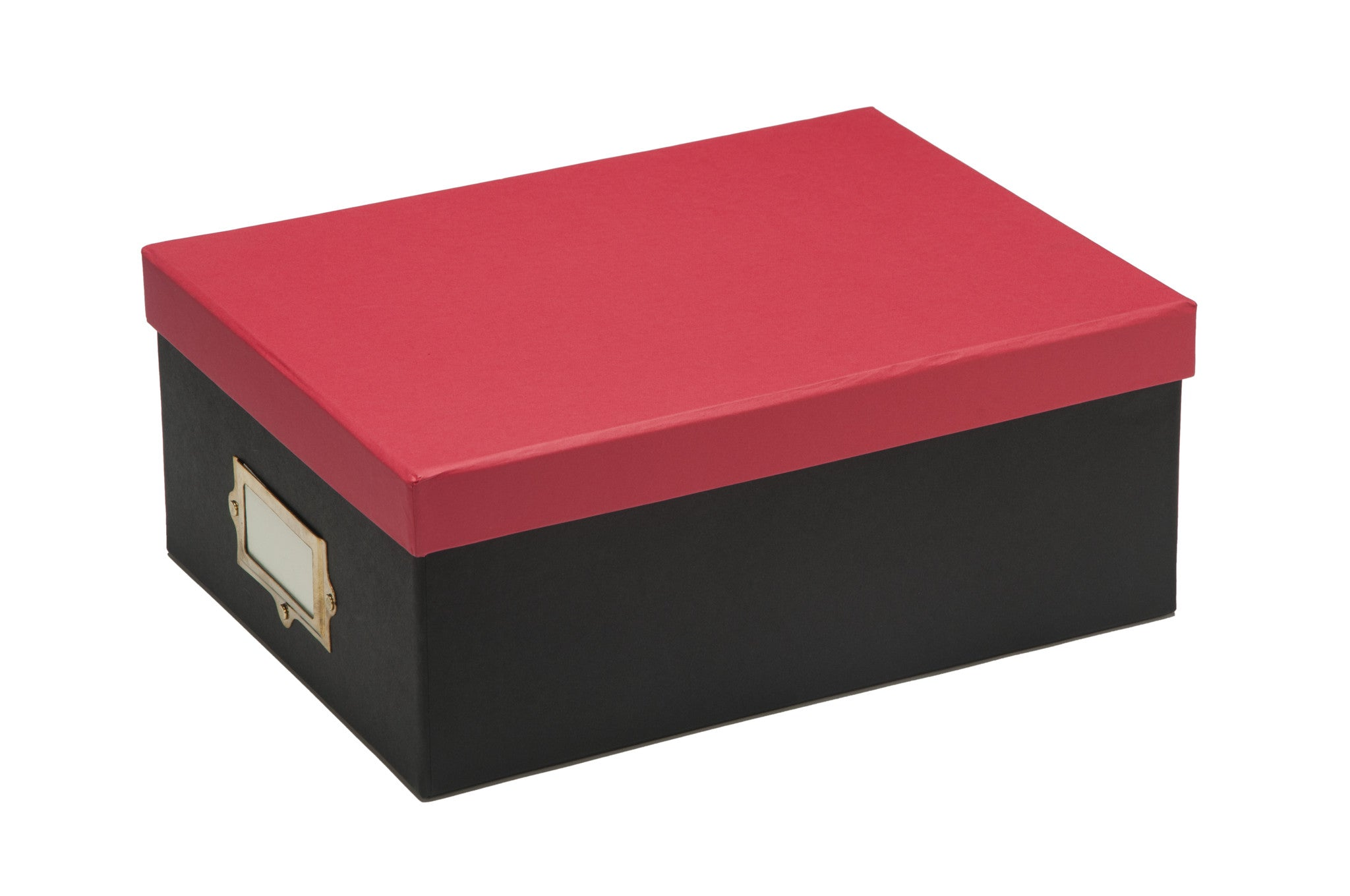 Red   Storage Box   Paper