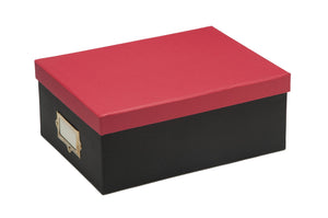 Red - Storage Box - Paper
