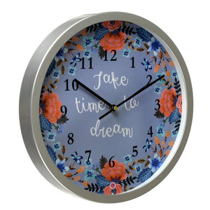 Take Time to Dream - Rosetta Wall Clock