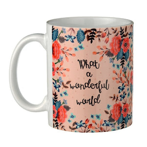 What a Wonderful World -  Rosetta Coffee Mug