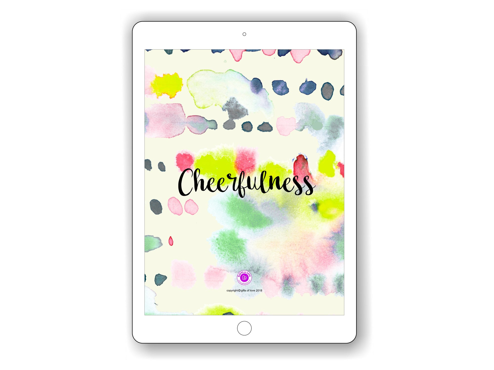 iPad/Tablet Wallpaper CHEERFULNESS Inner Treasure