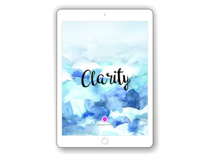 iPad/Tablet Wallpaper CLARITY Inner Treasure