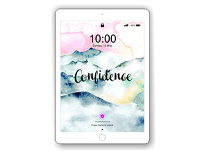 iPad/Tablet Wallpaper CONFIDENCE Inner Treasure
