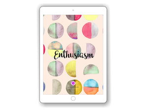 iPad/Tablet Wallpaper ENTHUSIASM Inner Treasure