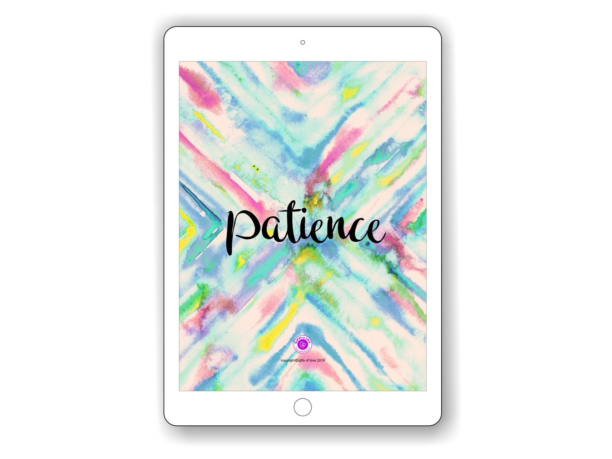 iPad/Tablet Wallpaper PATIENCE Inner Treasure