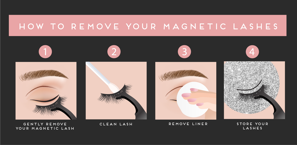 How to remove lashes