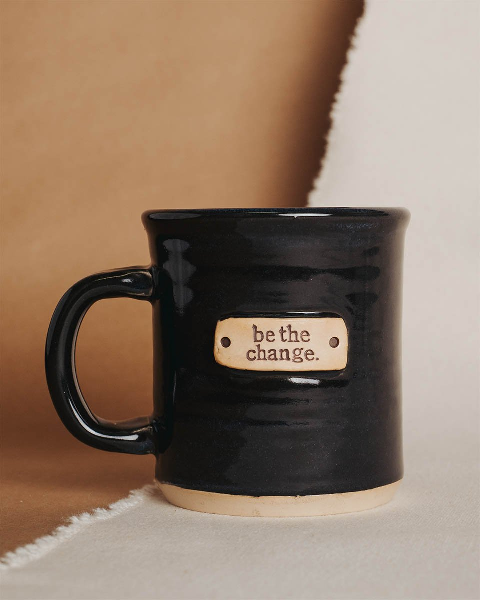 Be The Change <br>Tagged Mug