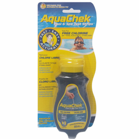 Aquachek Chlorine Test Strips (50)