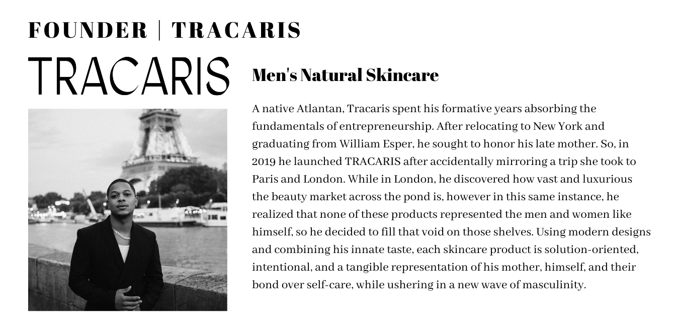 Tracaris The Black Apothecary Office Mens Skincare
