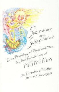 Sub-Nature & Super-Nature/ The True Foundations of Nutrition