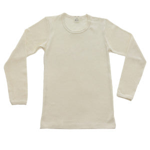 Organic Wool-Silk Long-Sleeved Shirts