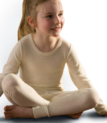 Wool and Wool-Silk Long Underwear