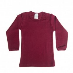 Organic Unisex Long-Sleeved Wool-Silk Shirt