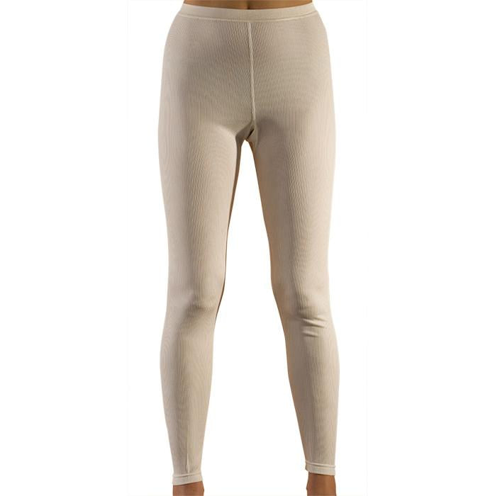 Organic Women's Wool-Silk Long Underwear